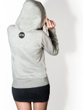 One Point Records /// EG /// Grey Hoodie