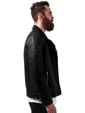 Urban ///   Leather Imitation Biker Jacket