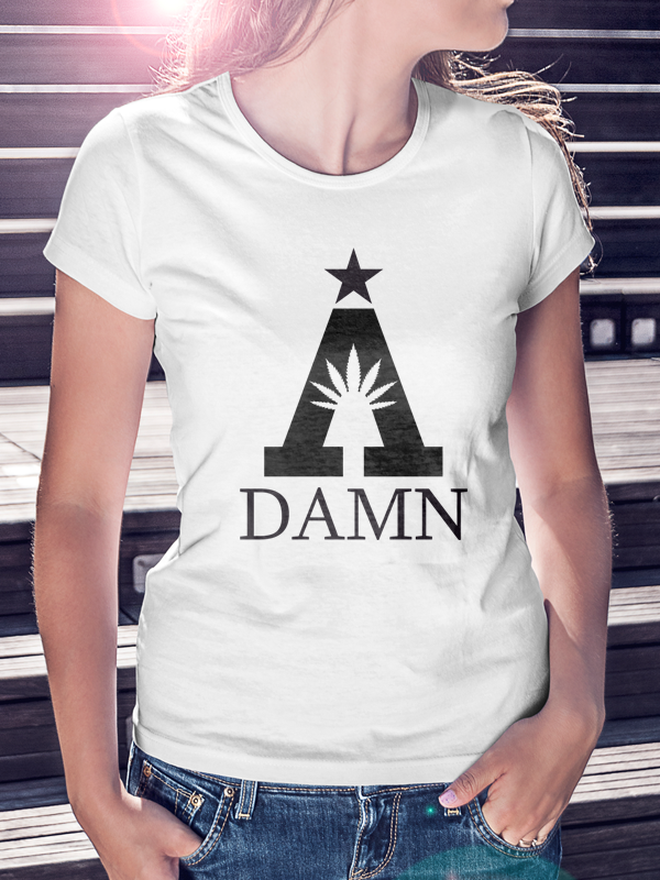 A Damn /// Special /// WOMEN WHITE SHIRT