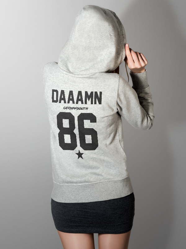 A Damn /// Special  /// HOODIE GREY