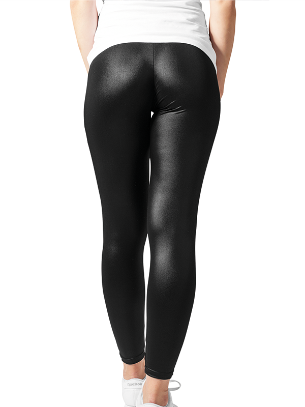 Urban ///  Ladies Leather Imitation Leggings
