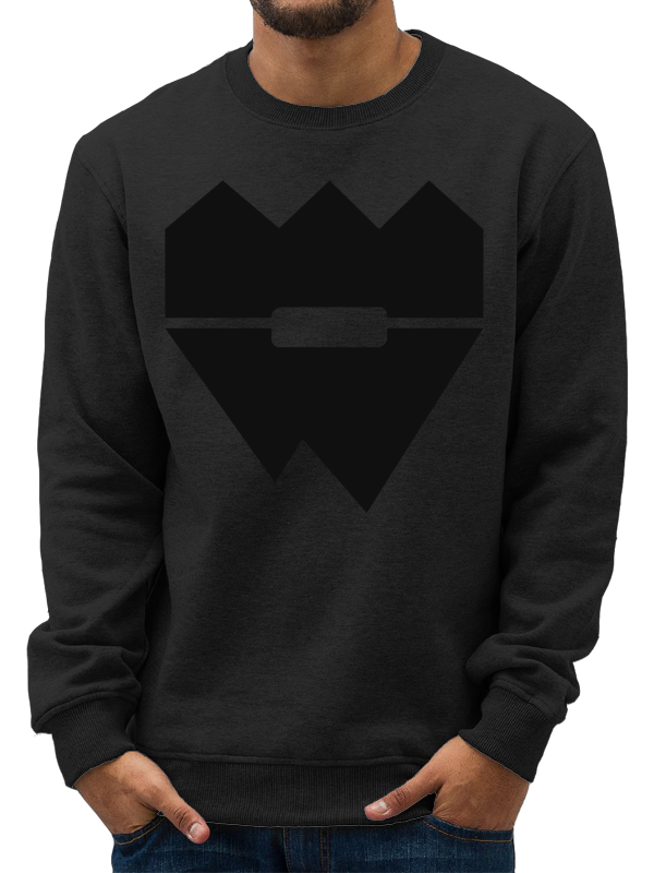 40CRWNS /// BLACK EDITION /// CREWNECK