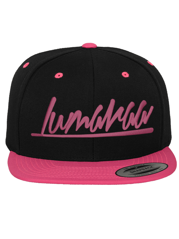 Lumaraa /// Snapback /// pink
