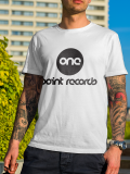 One Point Records /// Logo /// White Shirt