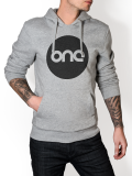 One Point Records /// Logo /// Grey Hoodie