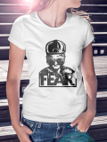 FEAR /// LOGO /// White Shirt WOMEN