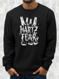 FEAR /// Hartz FEAR /// Black Crewneck