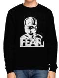 FEAR /// LOGO /// Black Crewneck
