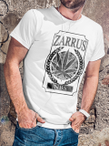 Zarrus // Ganja // MEN Whiteshirt