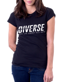 Diverse /// Jim Carrey /// T-Shirt Women /// schwarz