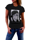 Diverse /// painted /// Shirt Women /// schwarz