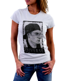 Diverse /// painted /// Shirt Women /// weiß