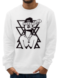 Zarrus /// SWAG GIRL /// WHITE CREWNECK